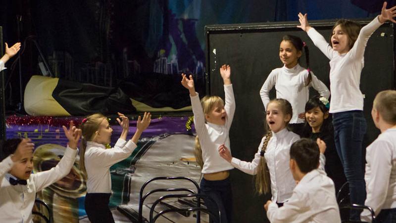 Детская театральная студия - школа в Одессе